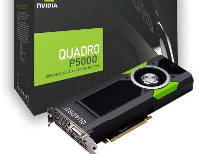 Coup œil sur Quadro P5000 Nvidia