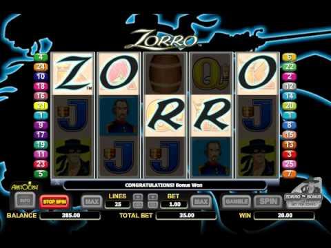 Machines à sous gratuites Zorro