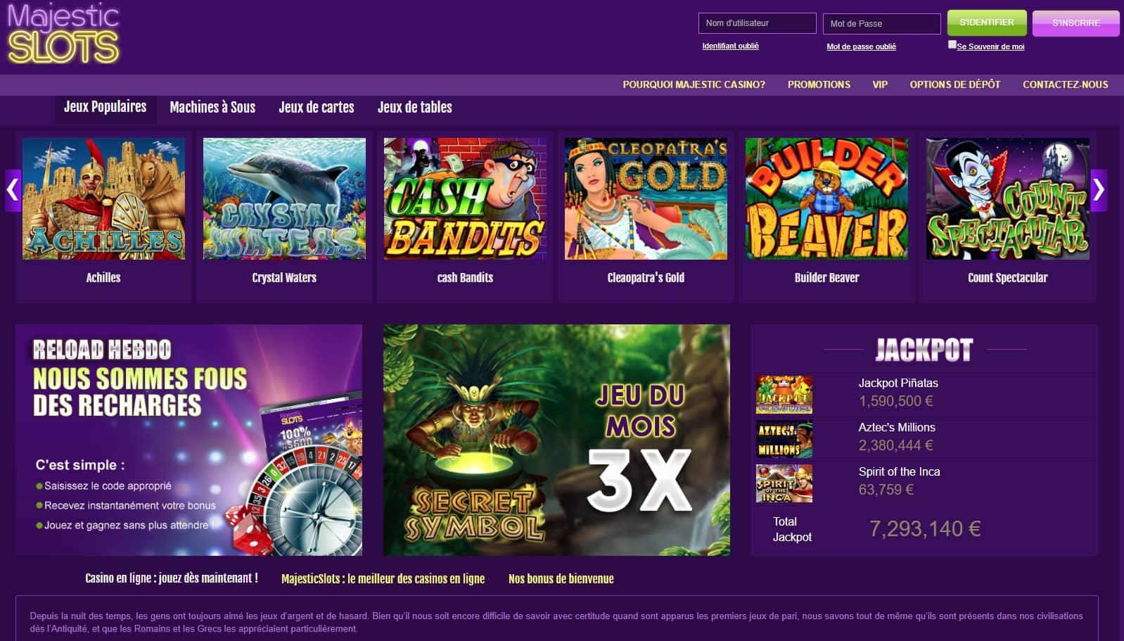 avis majestic casino