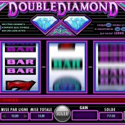 machine a sous double diamond